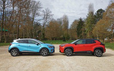 Toyota Yaris Cross hybride VS Renault Captur E-Tech : le match